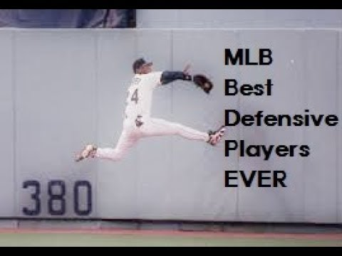 MLB Best Defensive Players EVER