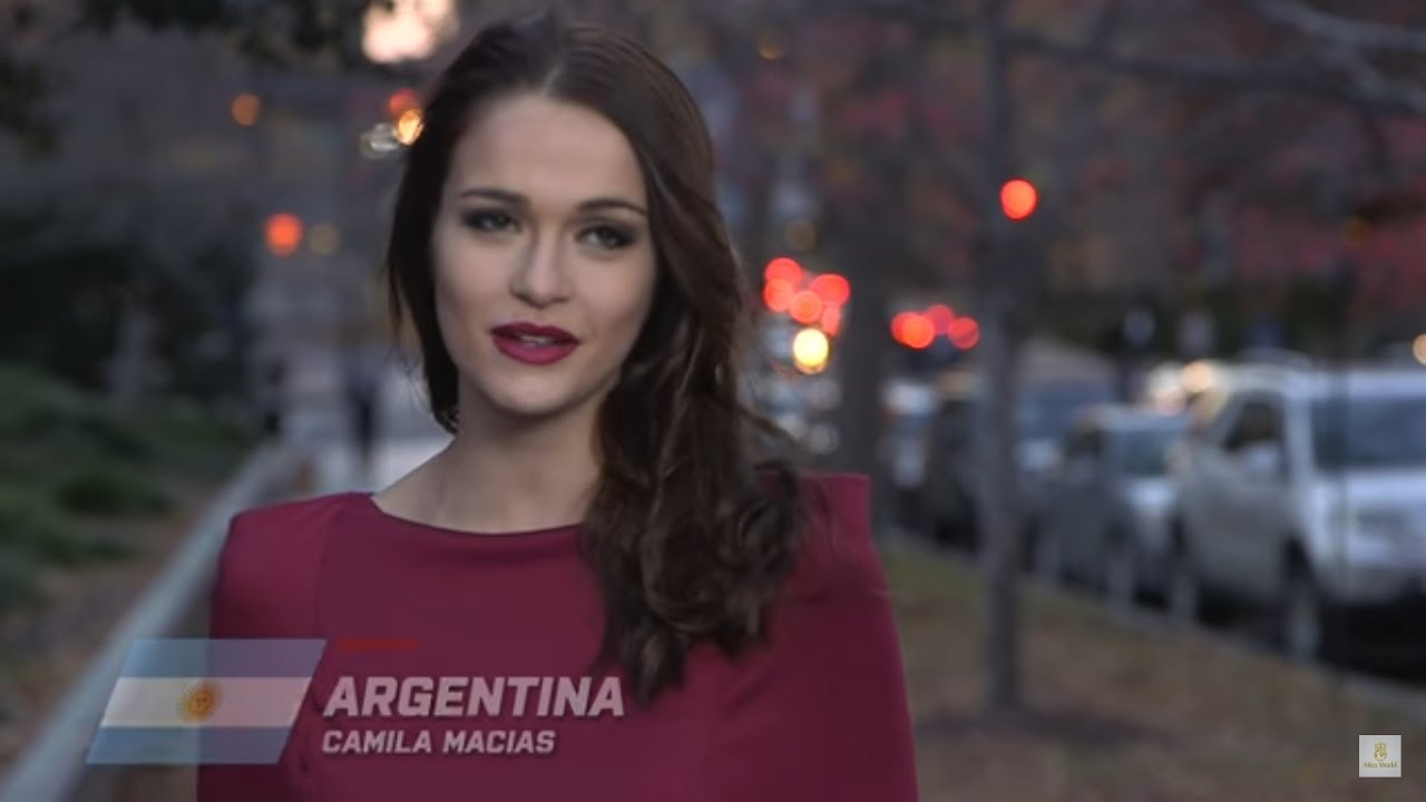 Argentina, Camila Macias - Contestant Profile: Miss World 2016