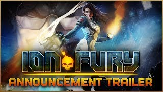 Ion Fury: PC Release Datum Trailer [Ion Maiden]