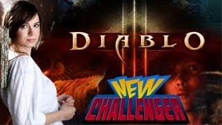 Is Diablo III REALLY that Good? w/Veronica Belmont - NEW CHALLENGER