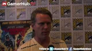 Cary Elwes on Justice League Flashpoint Paradox - Gamerhub.tv