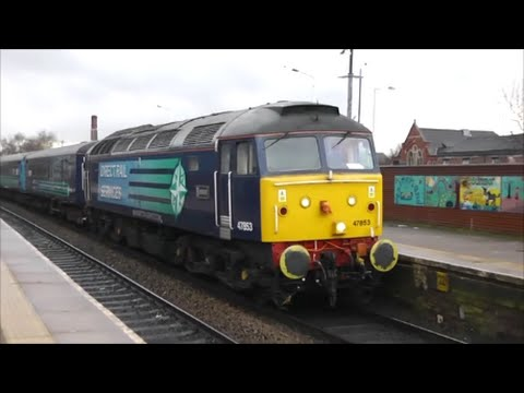 DRS class 47's, Northern Rail Loco Hauled Service | 13/12/14