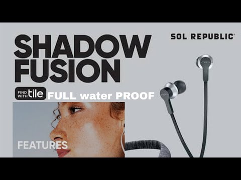 SHADOW FUSION earphone bluetooth Review 2019