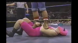 Big Josh vs Zan Panzer  WCW wrestling