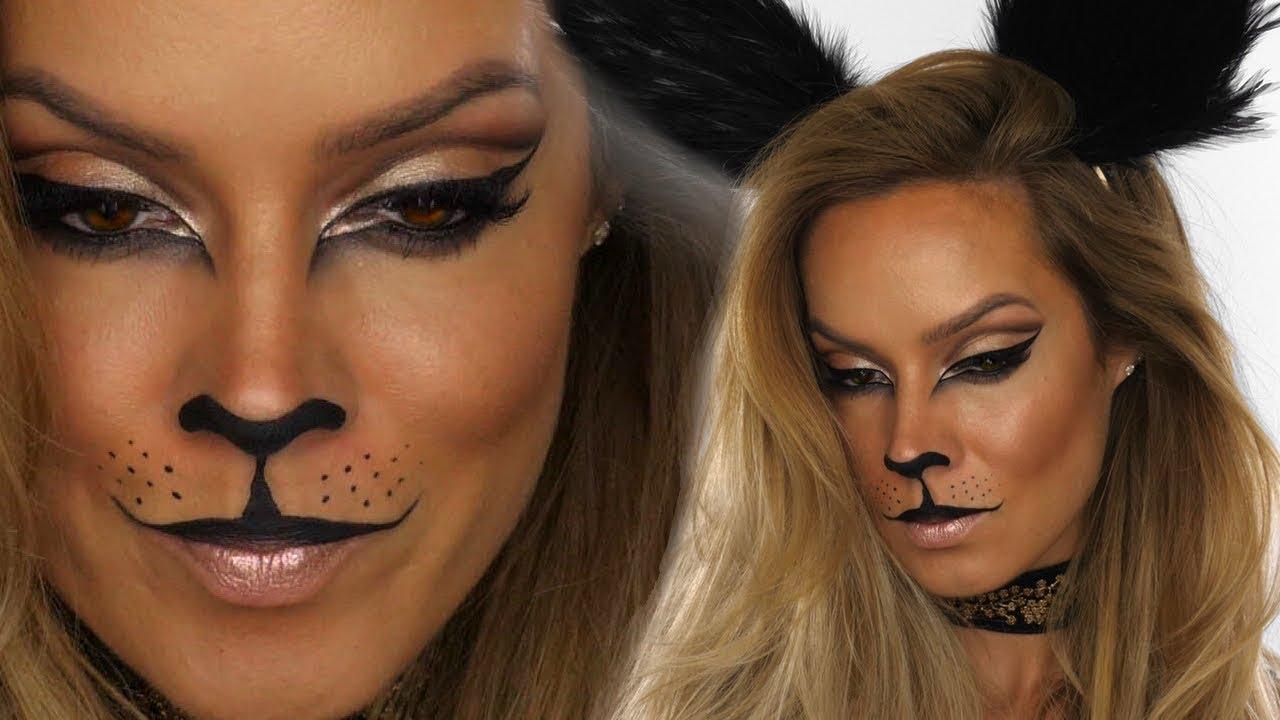fc2f7827407 Glamour-Puss Halloween Makeup Tutorial | Cat MakeUp | Shonagh Scott |  ShowMe MakeUp