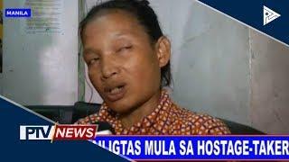 Bata, nailigtas mula sa hostage-taker