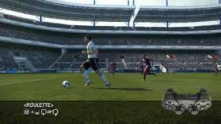 Tutorial de dribles pes 2011 ps3