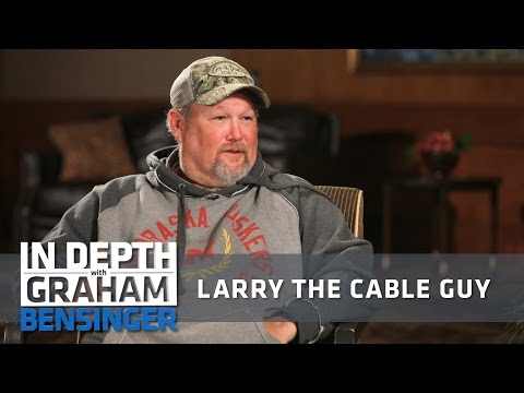 Larry the Cable Guy: I owe career to comic who tanked