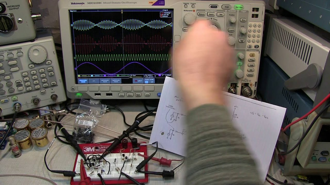 223 Basics Of The Gilbert Cell Analog Multiplier Mixer Make A Frequency With Op Amps Content From Electronic Modulator