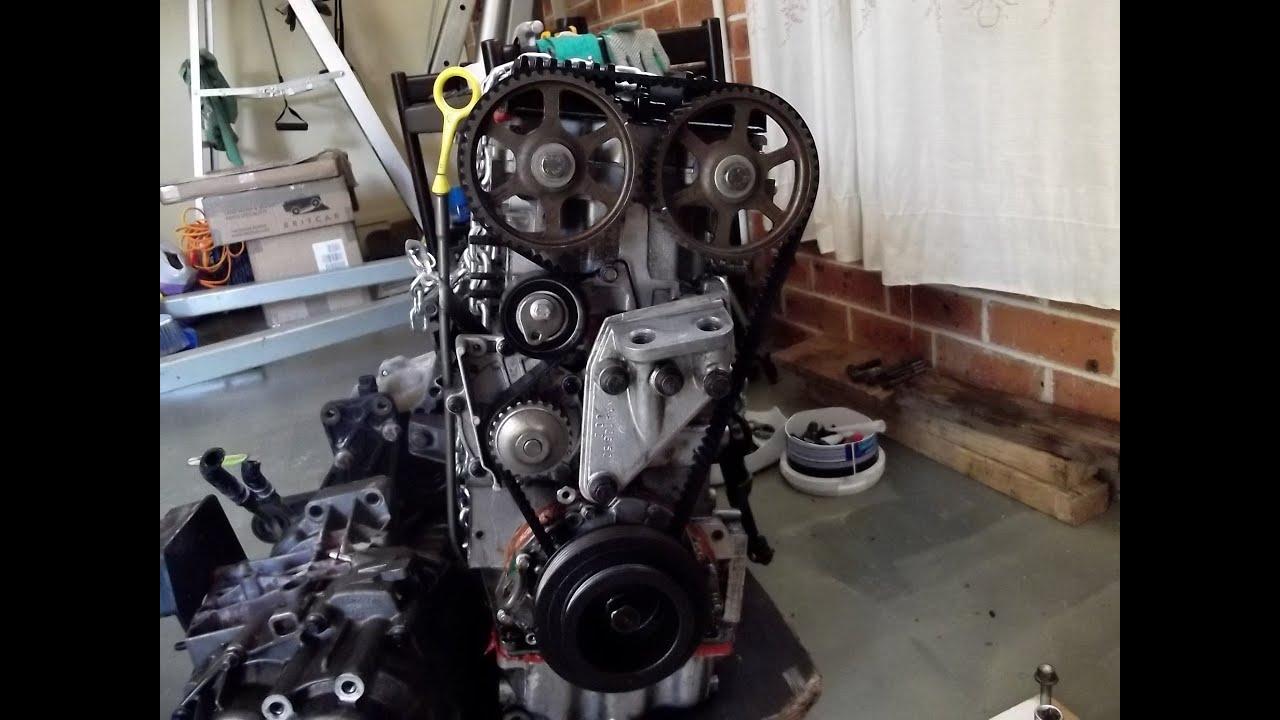 Removing a 1 8 K Series Rover Engine Freelander 18KF4