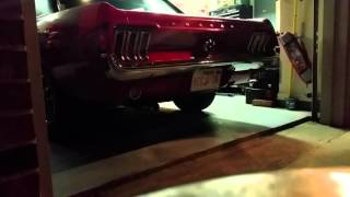 67 Mustang 289, original manifold 4 barrel carb, H pipe Magnaflow Exhaust!