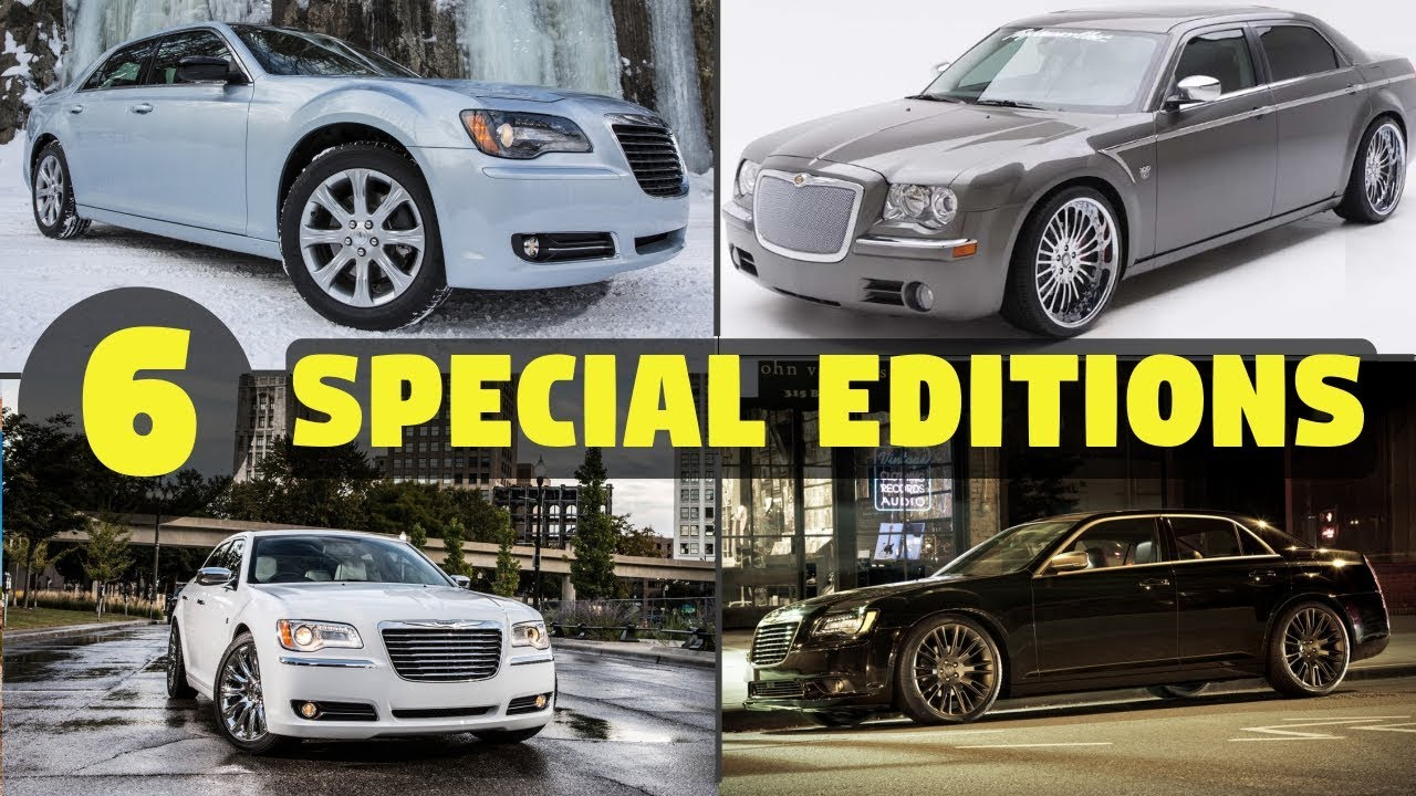 medium resolution of 6 special limited edition chrysler 300