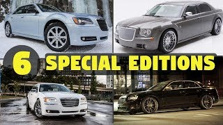 6 Special & Limited Edition Chrysler 300 Models - RARE!