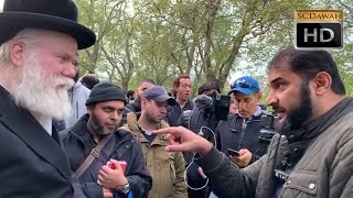 Rabbi Talks! Adnan & Rabbi Ben Abrahamson | Speakers Corner | Hyde Park