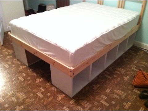 Bed with Storage Underneath & Bed with Storage Underneath - YouTube