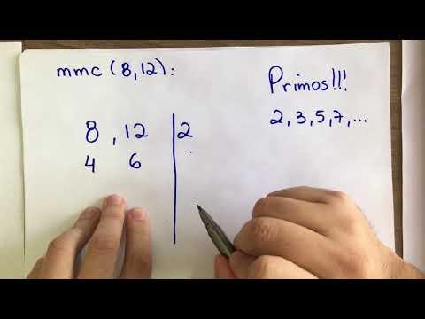 Matemática em Casa - M.M.C. Mínimo Múltiplo Comum.