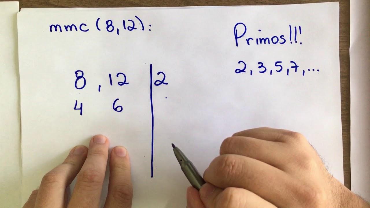 Matemática em Casa - M.M.C. Mínimo Múltiplo Comum. Aula #001 - YouTube