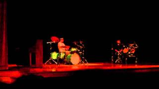 9th grade talent show mike and bogi s drum duet