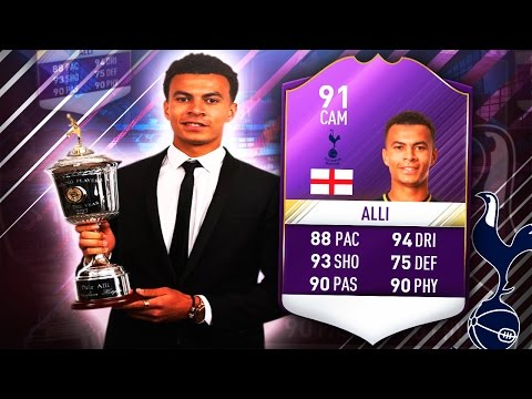 YPOTY DELE ALLI 91!! IS HE THE BEST CAM?? FIFA 17 ULTIMATE TEAM