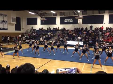 DVHS Cheer Dublin Game 2015