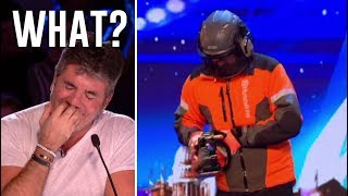 Danger Act Goes From EPIC Fail To Epic SCARY! | Britain's Got Talent 2018