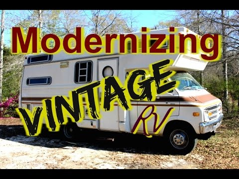 Modernizing a VINTAGE RV **** Our New Project****