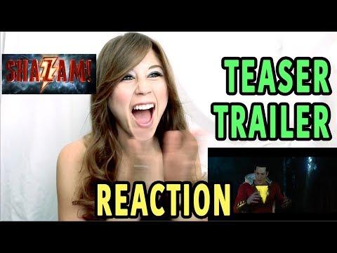 SHAZAM! Teaser Trailer - Reaction