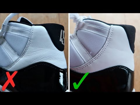 How To Get Ankle Creases Out Of Jordan 11s (BEST WAY!)