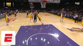 Julius Randle shoves Nikola Jokic to ground, setting off scuffle late in Nuggets-Lakers | ESPN