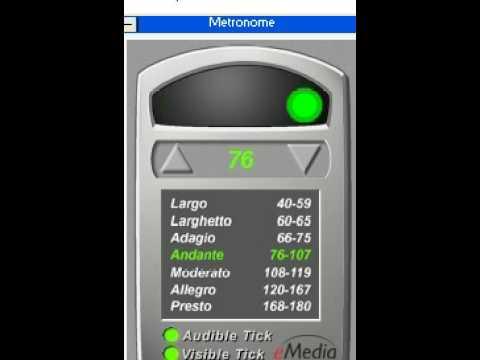 Metronomo . Video teoría musical