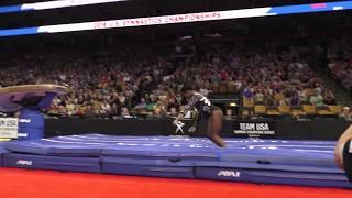 Simone Biles - Vault 1 – 2018 U.S. Gymnastics Championships – Senior Women Day 1