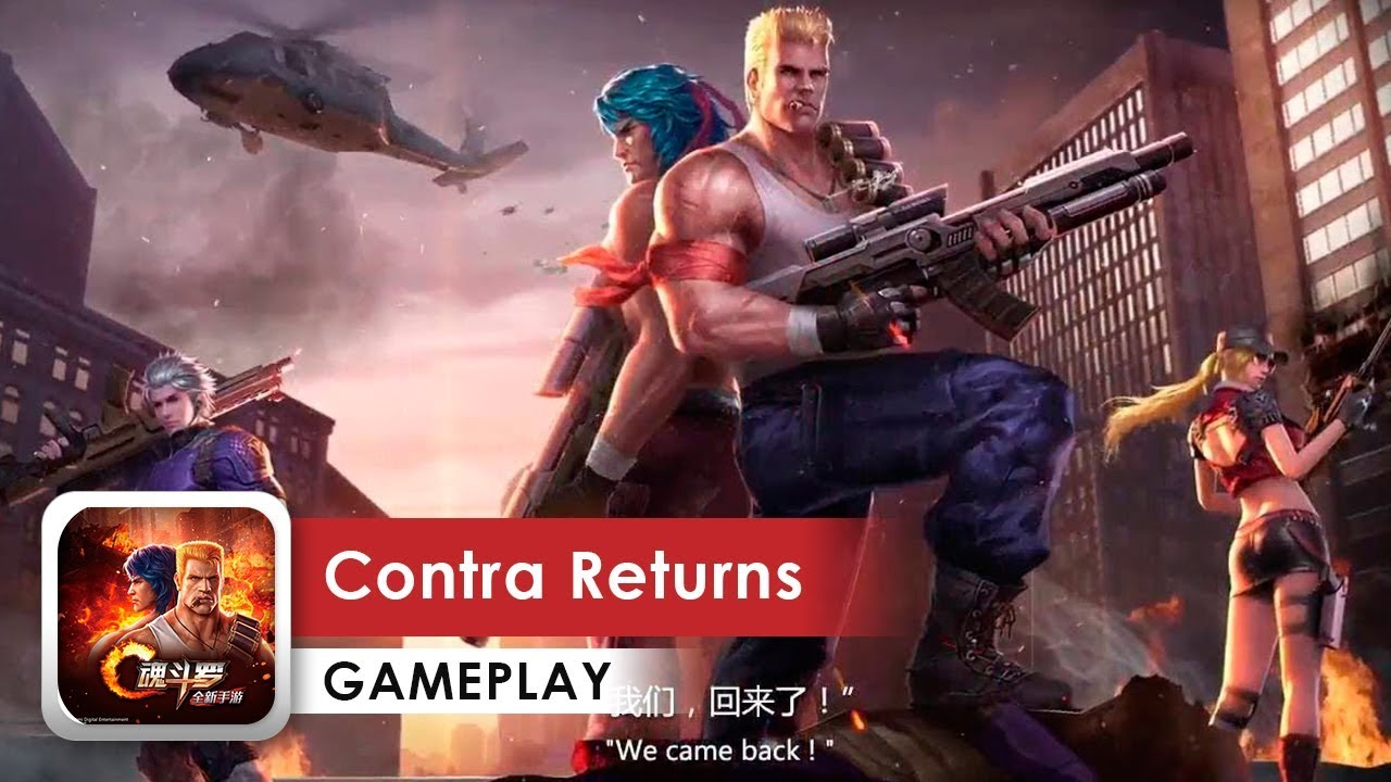 contra hd game for android