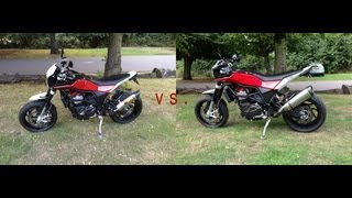 Husqvarna Nuda 900R Exhaust Showdown - Akra vs. Leo thumbnail