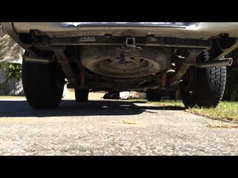 2000 Chevy s10 super 10 flowmaster exhaust 4.3L v6