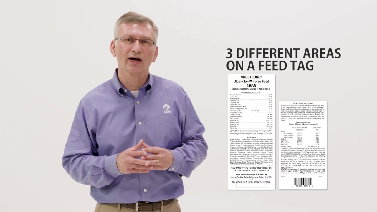 About the Feed Tag, by ADM Animal Nutrition