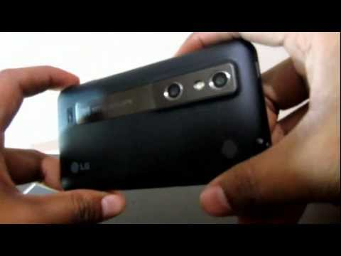 Unboxing: LG Optimus 3D (Español Mx)
