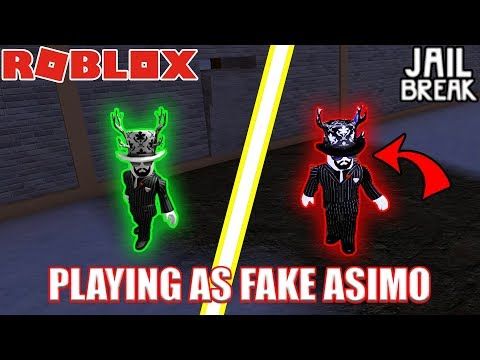 Playing As Fake Asimo3089 Roblox Jailbreak - asimo3089 roblox account