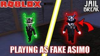 PLAYING as FAKE ASIMO3089 | Roblox Jailbreak