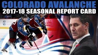 Colorado Avalanche 2017-18 Seasonal Report Card