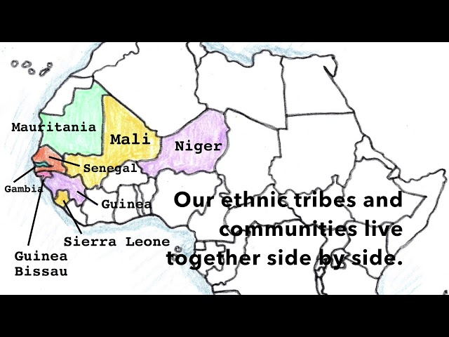 Africa Geography Song, West Africa Part 1