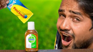 Don't Mix FeviKwik In Dettol - Shocking Results
