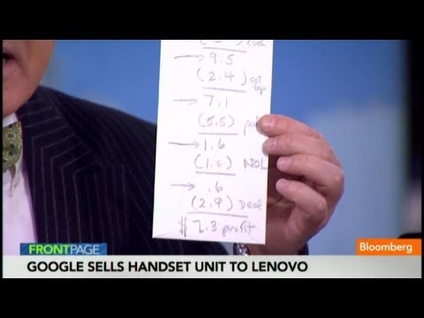 Google-Lenovo Deal: Back of the Envelope Math
