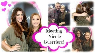 Meeting Nicole Guerriero ❤ Thumbnail