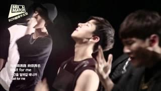 [iKONCN]140911.Mix&Match.Team B.기다려(wait for me) mv+练习室舞蹈影像 720p高清精效中字