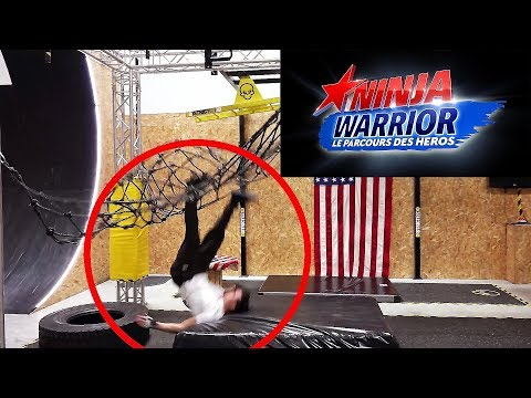 CE CRASHE A NINJA WARRIOR
