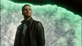 Оливер покидает Мир Доминаторов | Стрела (5 сезон 8 серия)