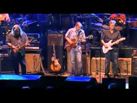The Allman Brothers Band With Eric Clapton Live - Stormy Monday 2009