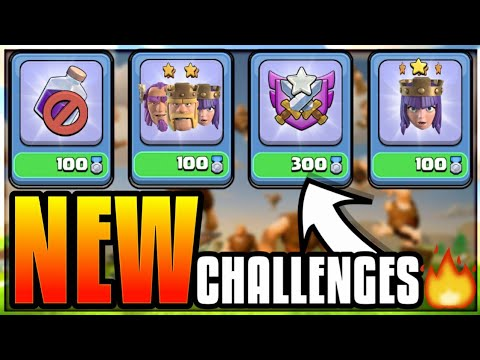 NEW CLAN GAMES CHALLENGES EXPLAINED! CLASH OF CLANS•FUTURE T18