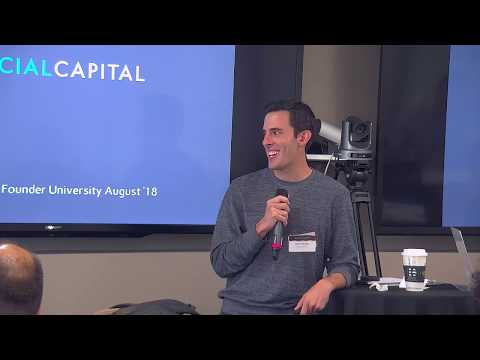 "E846: Adam Nelson Social Capital ""What it Takes to Raise a Series A in 2018"" @ Founder.University"