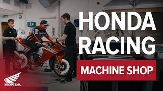 Behind The Scenes With Honda Racing Bsb - Machine Shop